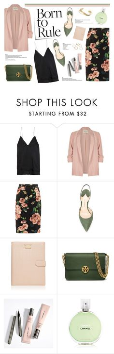"""#427"" by blacksky000 ❤ liked on Polyvore featuring Haider Ackermann, Post-It, River Island, Dolce&Gabbana, Paul Andrew, Forever New, Tory Burch and Chanel"