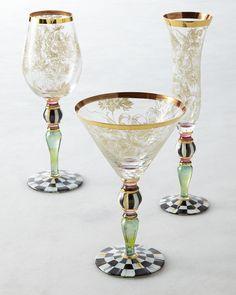Blooming Wine Glass