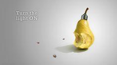 Pear light bulb Wallpaper #42063