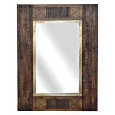 Cheyenne Wood Mirror - 23.5W x 31.5H in.