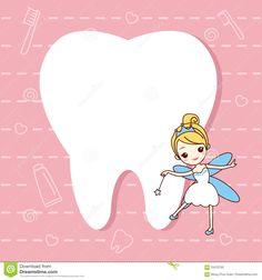 Nota Do Dente Com Fada De Dente Ilustração do Vetor - Ilustração de cute, ilustração: 70470750 Dentist Art, Pediatric Dentist, Dental Office Decor, Dental Office Design, Dental Facts, Dental Humor, Dental Wallpaper, Tooth Fairy Receipt, Tooth Cartoon
