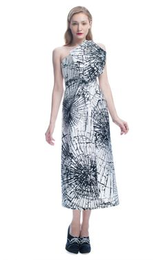 Giles: Architectural Smashed Glass Dress