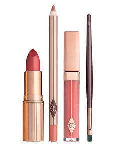 C1ZCW Charlotte Tilbury Limited Edition The Perfect Pink Kiss Set