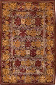 carpet Vineyard 3, C.F.A. Voysey