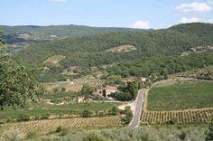 Via Chiantigiana - Scenic drive from Siena to Florence though Tuscany  http://www.chianti-italy.com/chiantigiana.htm