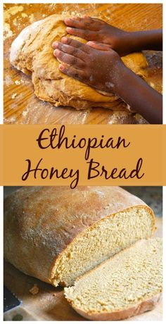 Yemarina Yewotet Dabo: Ethiopian Bread with Honey – Gesundes Abendessen, Vegetarische Rezepte, Vegane Desserts, Ethiopian Bread, Ethiopian Cuisine, Ethiopian Recipes, Bread Recipes, Cooking Recipes, Honey Recipes, Teff Recipes, Lasagna Recipes, Cod Recipes