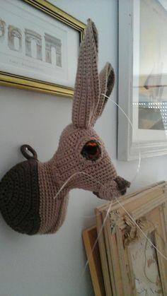 Lièvre au crochet modele de vanessa mooncie