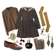 """Autumn#7"" by magdalena-bing on Polyvore -- Like the colors/textures ... not the prices."