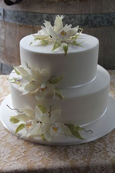 """Orchid Elegance""  ~ all sugar orchids and all edible"
