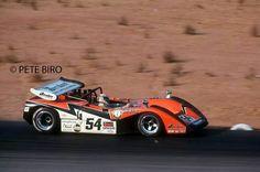 Tony A2Z 1969 McLaren M8B  1971 Riverside Can Am