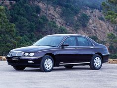 1998 Rover 75. So drab, so boring