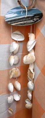 How to make Seashell Wind Chime - DIY Craft Project with instructions from Craftbits.com