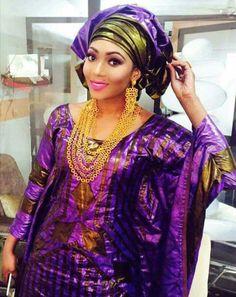 Malian Fashion bazin #Malifashion #bazin #malianwomenarebeautiful… African Girl, African Beauty, African Women, African Inspired Fashion, African Print Fashion, Fashion Prints, African Print Dresses, African Dress, African Attire