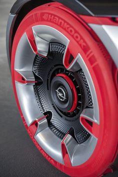 Gt concept gets an early reveal ahead of geneva debut pneu hankook, opel gt Porsche 911 Gt2, Custom Wheels, Custom Cars, Opel Gt Concept, Automobile, Rims For Cars, Car Rims, Diy Car, Counting Cars