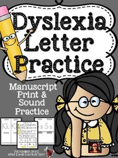 When writing to a dyslexic is it better to type or handwrite a letter to them?