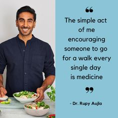 Ep 112. Can our diet make us happier? With Dr Rupy Aujla - Calmer you Food Doctor, Free Day, The Hard Way, Eating Well, Encouragement, Healthy Eating, Nutrition, Diet, Canning