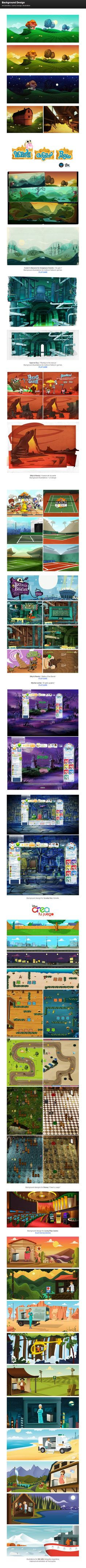 Background Design on Behance ★ Find more at http://www.pinterest.com/competing/