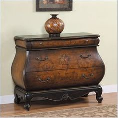 Furniture of the 1700's - Great French Bombe chest. Perfect lines