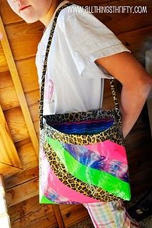 Cool duct tape bag, I like the stripes