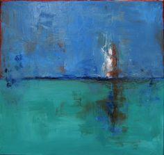 """Saatchi Online Artist Terrie Boruff Yeatts; Painting, """"Seascape"""" #art"""
