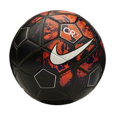 What a dynamic Nike CR7 soccer ball. The Savage Beauty lava design helps to make the ball stick out. Get the Cristiano Ronaldo soccer ball or soccer cleats today at SoccerCorner.com!  http://www.soccercorner.com/Nike-CR7-Prestige-Soccer-Ball-p/eb-nisc2782-636.htm