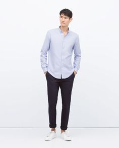 Image 2 of LONG SLEEVE SHIRT from Zara