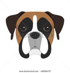 image result for boxer dog clipart greg pinterest dog craft rh pinterest com Boxer Dog Line Drawings boxer dog clipart images