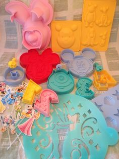 Disney Cakes and Sweets 1-7 bento guide