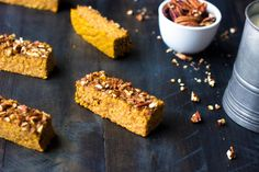 Pumpkin Protein Bars Recipe