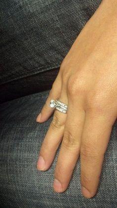 Elizabeth Smart Engagement Ring #ring #engagement #diamond #bling