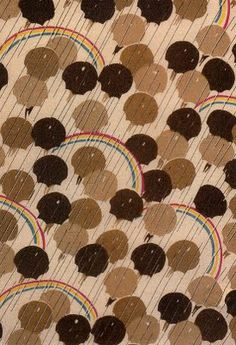 edward j. steichen umbrellas 1927 Textile Patterns, Textile Prints, Textile Design, Fabric Design, Pattern Art, Abstract Pattern, Pattern Design, Print Design, Art Print