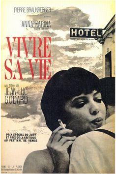 Vivre Sa Vie. Jean-Luc Godard.