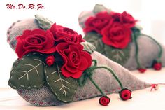 cuore con rose rosse