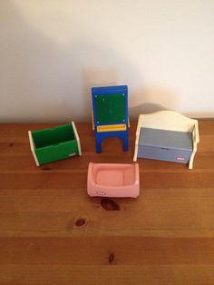 Little Tikes Vintage Dollhouse Play Toys / by SchmitysVintageBooty