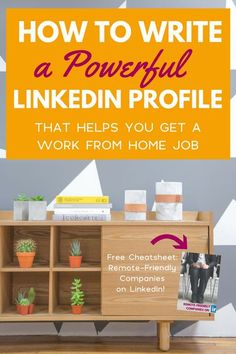 LinkedIn Profile Tips For Remote Job Seekers