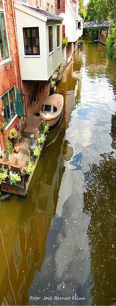 Appingedam. Hangende keukens! The Netherlands