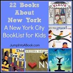 New York City Booklist for kids!