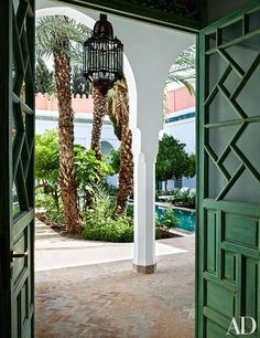 Inside a majestic Marrakech oasis that does Moroccan accents just right