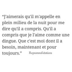Image about text in Citations , Quotes by Reine Sans Diadème French Words, French Quotes, Sad Quotes, Love Quotes, Inspirational Quotes, Trust Quotes, Pretty Words, Beautiful Words, Ig Captions