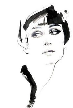 David Downton illustration