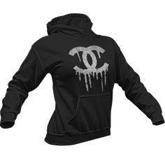 136c4573a Glitter Vinyl Dripping Chanel Hoodie – Crystallized By Sparkle Colorful  Hoodies, Glitter Vinyl, All