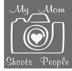 Photography Vinyl Decal - This would make a great T-shirt graphic. Use heat transfer materials and heat press to create yours.