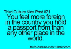 If you're a third culture kid, you will relate to these posts. Student Problems, Life Problems, Third Culture Kid, He Is Lord, Career Quotes, Success Quotes, Dream Quotes, Quotes Quotes, Marketing Quotes