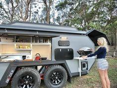 Superior Comfort Off-Road Camper Off Grid Trailers, Off Road Camper Trailer, Truck Camper, Camper Trailers, Kayak Trailer, Expedition Trailer, Overland Trailer, Expedition Vehicle, Offroad