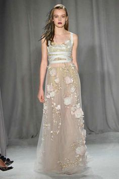 #NYFW - Runway: #Marchesa Spring 2014 Ready-to-Wear Collection