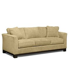 "Kenton Fabric Sofa, 88""W X 38""D X 33""H - Couches & Sofas - furniture - Macy's"