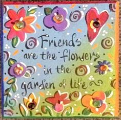 Garden Art Stone Friends by KathyHyatt on Etsy, $42.00