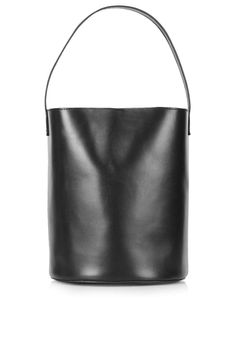 Premium Leather Bucket Bag - Topshop