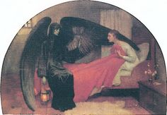 Marianne Stokes - Death and the Maiden Skeleton Dance, Gothic Angel, Dance Of Death, Danse Macabre, Magic Book, Paintings I Love, Metal Artwork, Memento Mori, Traditional Art