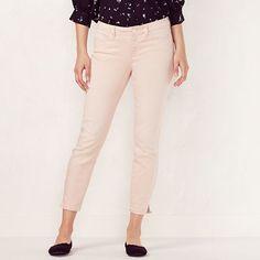 b1d801f630f13 Women's LC Lauren Conrad Colored Skinny Capri Jeans Colored Jeans, Lc  Lauren Conrad, Pink